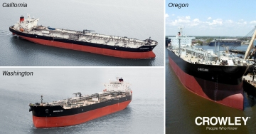 Crowley Completes Acquisition of Three SeaRiver Tankers - Crowley