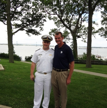 Crowley Maritime Security Award - JCameron and Dad-sm