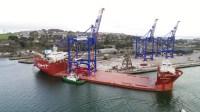 Liebherr prepares to ship three STS cranes to Puerto Rico