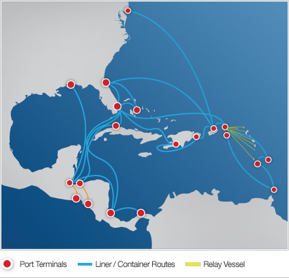 Liner Container Routes