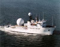 The USNS Invincible (T-AGM-24) is one of the ships managed by Crowley for the Military Sealift Command.