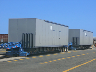 Crowley Transports Massive 98,000-Pound Electrical Equipment Enclosures