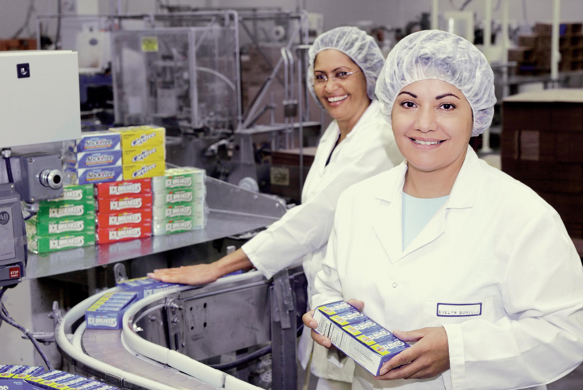 Gum-manufacturing