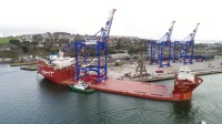 Liebherr prepares to ship three STS cranes to Puerto Rico