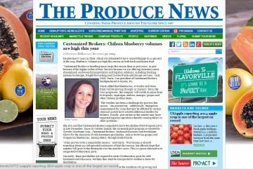 Produce News - Blueberries