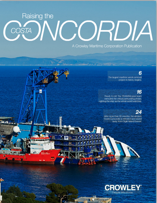 Raising the Costa Concordia Magazine
