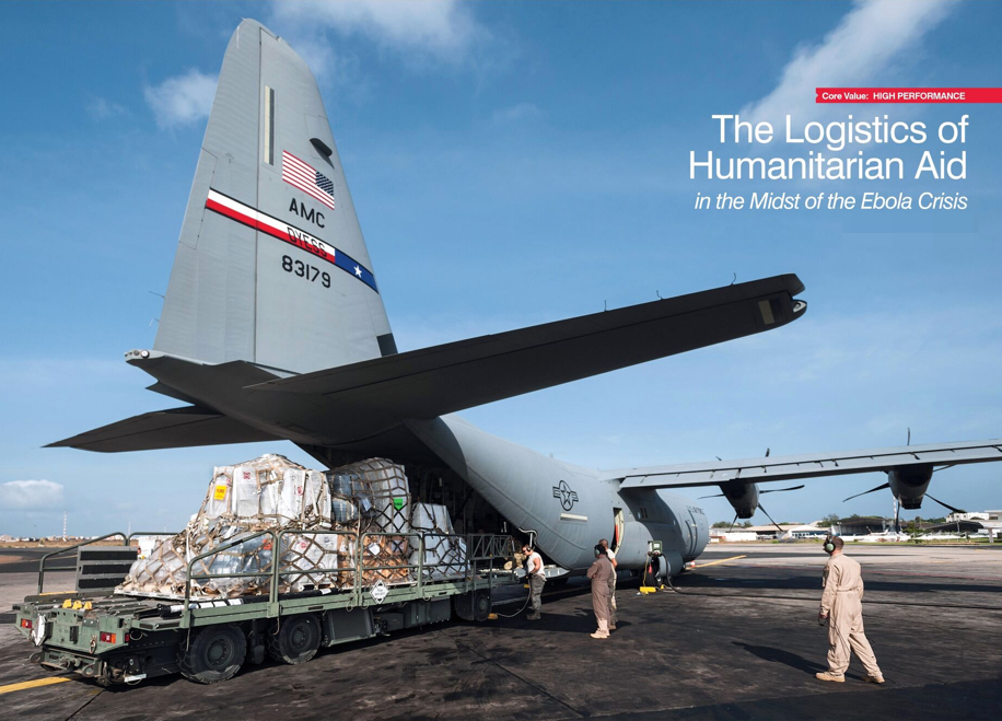 The Logistics of Humanitarian Aid in the Midst of the Ebola Crisis