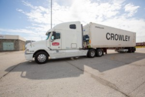 Crowley's new USDA customs inspection dock in Port Everglades, Florida, results in more efficient perishable service from Central America and the Caribbean.