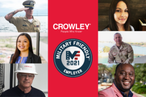 Crowley is a military friendly employer of veterans and active duty service members seeking jobs and careers.