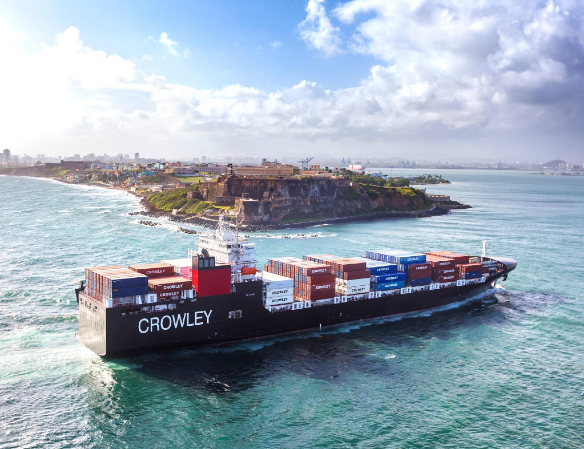 lng powered el coqui ocean freight