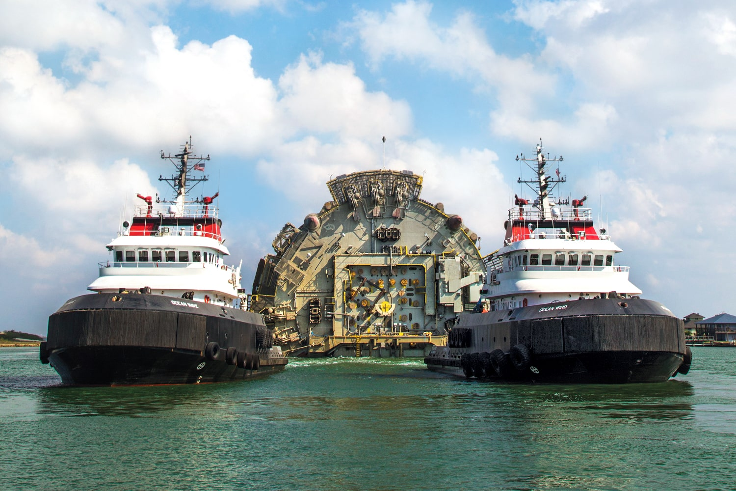 offshore services right vessels