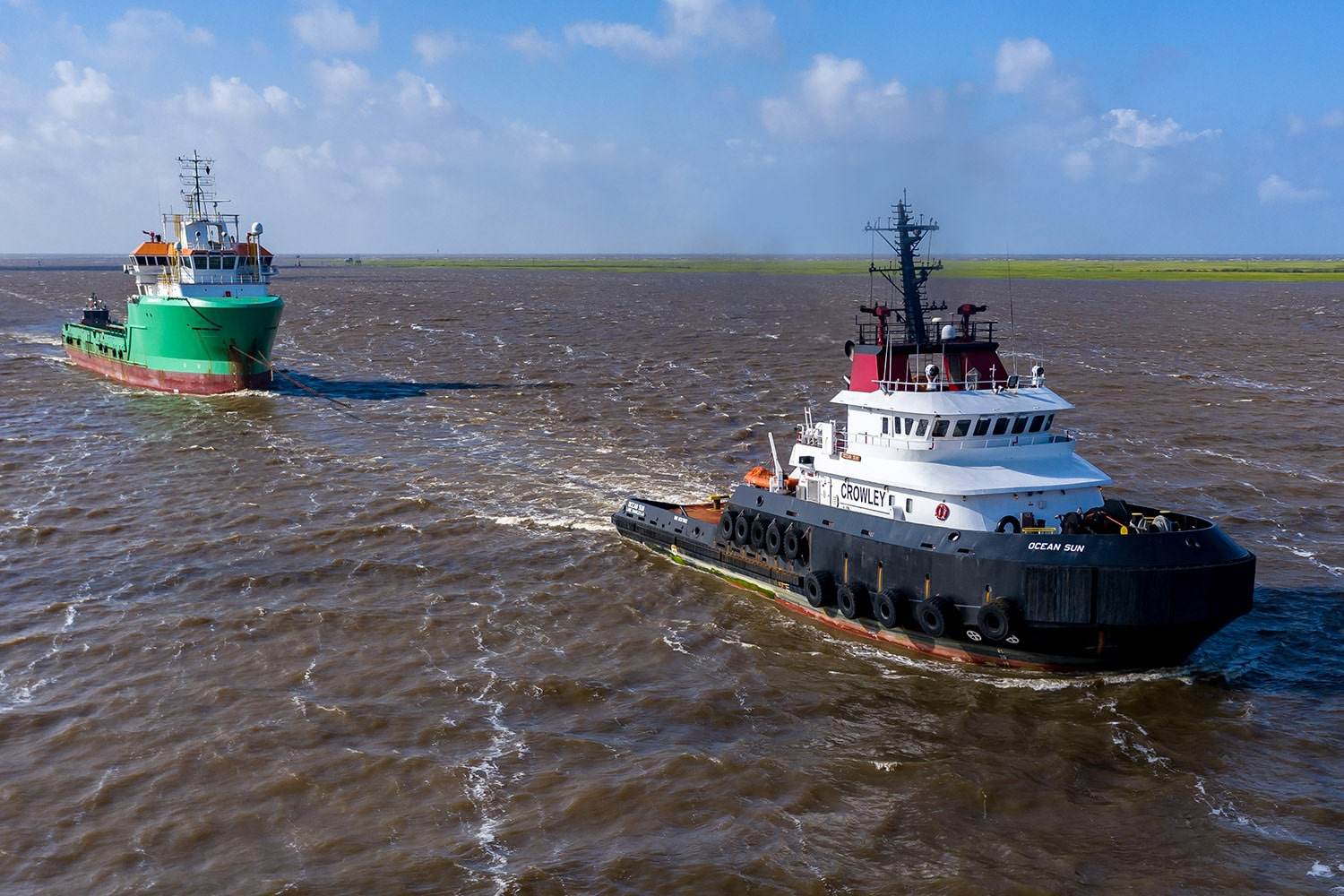 tugs and barges ocean class tugboats