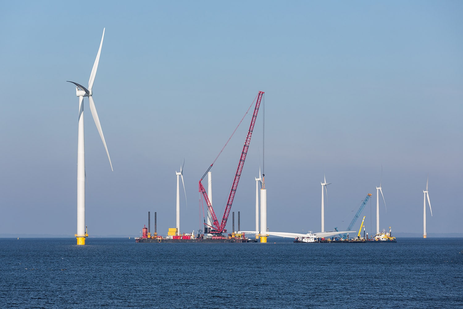 offshore wind oil and gas terminaling