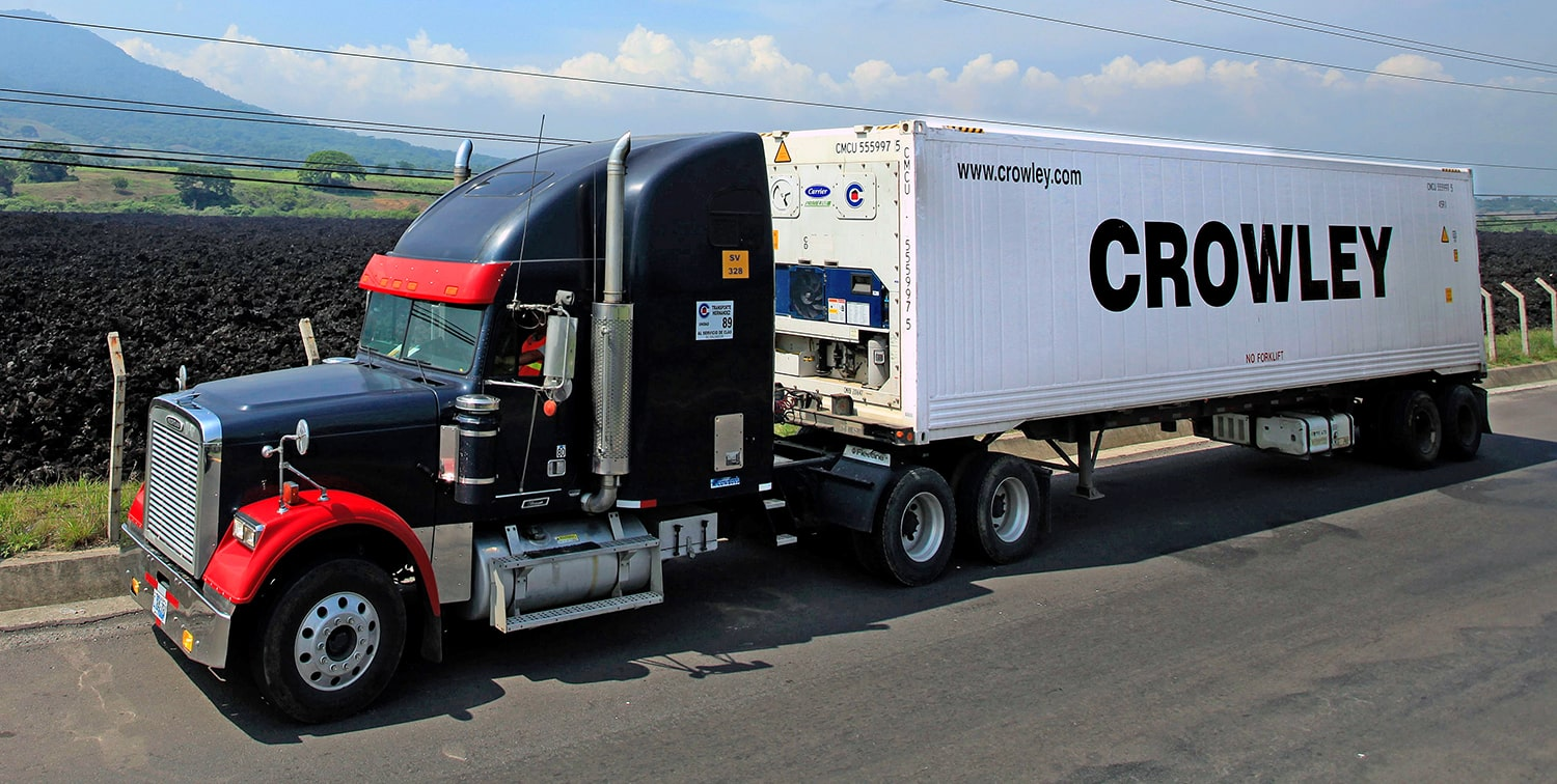 Crowley Trucking offers end to end solutions that are sustainable.