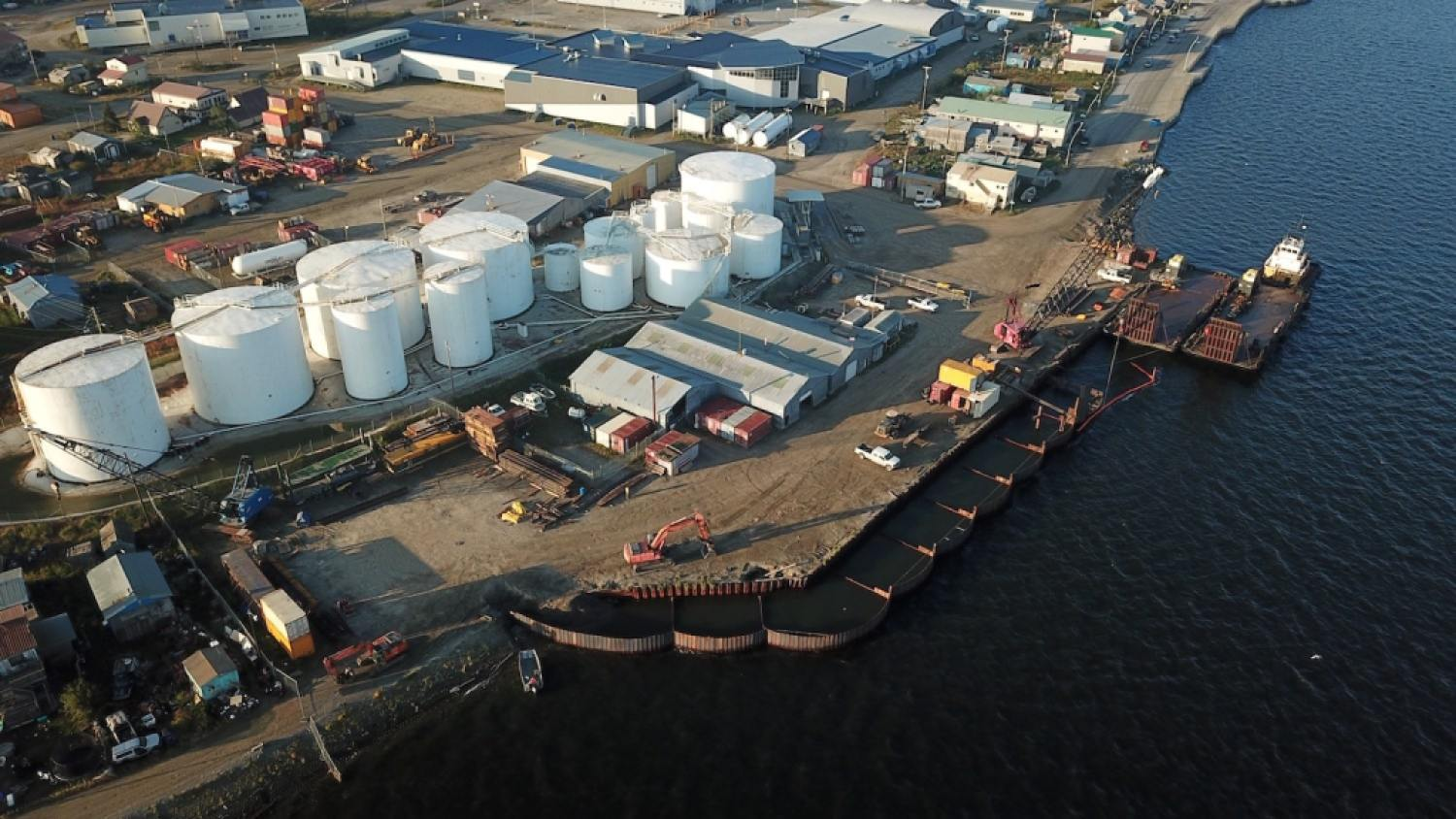Crowley has expanded the Kotzebue dock to support continuing, reliable fuel and cargo deliveries.