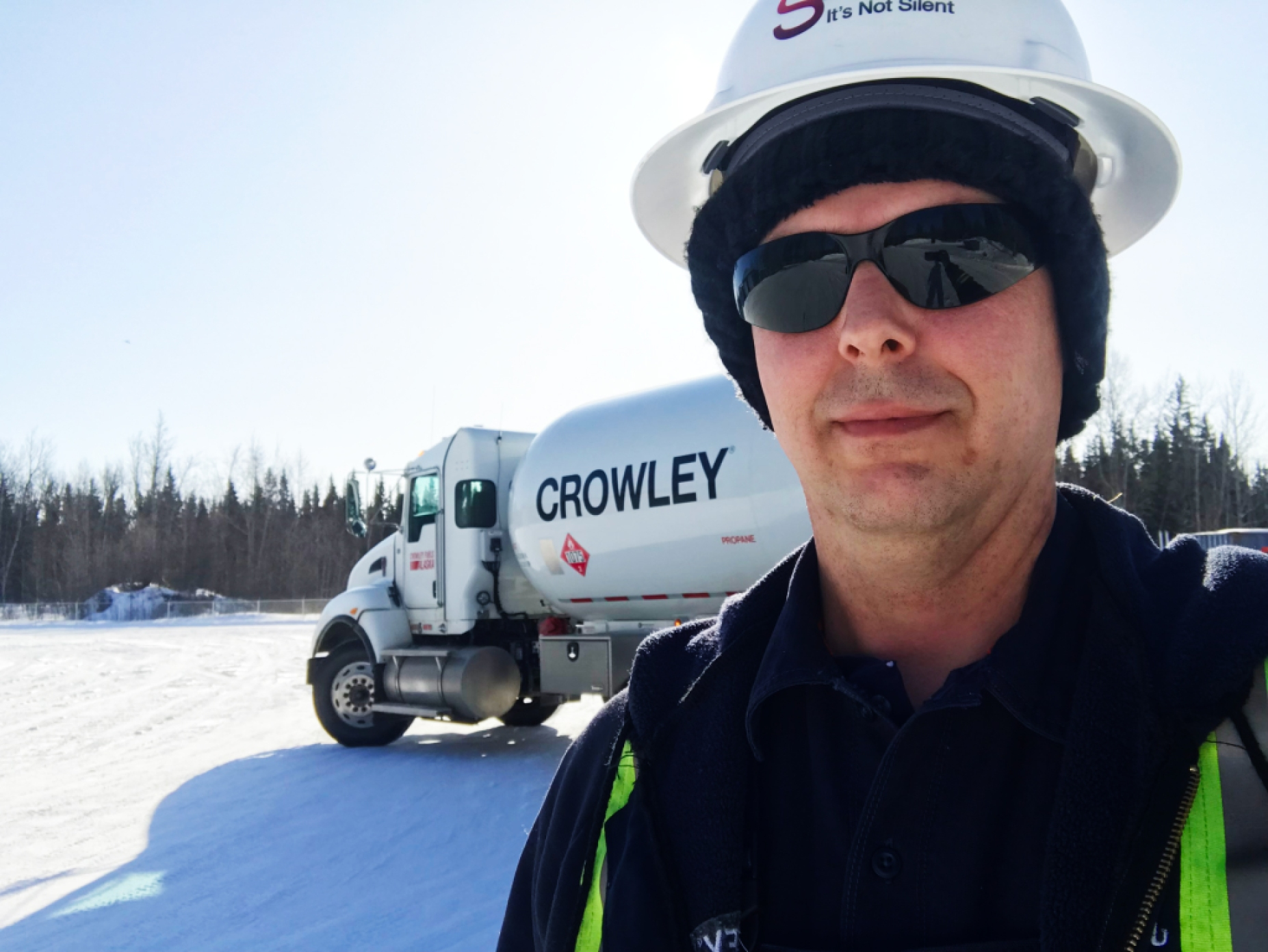 Crowley Fuels honors Champion of the Year, Aaron Hanson, our Delta Junction terminal manager.
