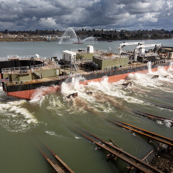 Crowley Fuels launches new barge to provide safe, reliable and efficient services in Alaska.